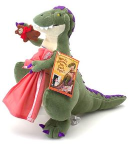 How Do Dinosaurs Say Goodnight Doll (14 inches)