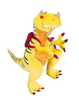How Do Dinosaurs Go To School? Doll