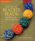 В книге The art of beaded beads цветные схемы плетения из бисера различных круглых бусин, овальных кулонов...