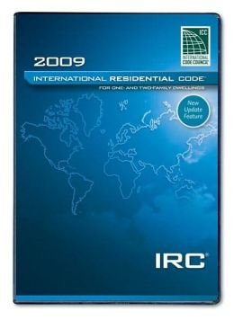 2009 International Residential Code (PDF CD)  - Single Seat