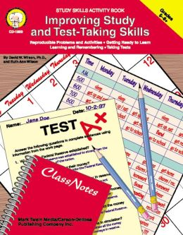 Improving Study and Test-Taking Skills