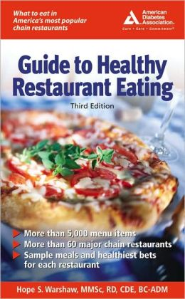Guide to Healthy Restaurant Eating