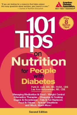 101 Tips on Nutrition for People with Diabetes