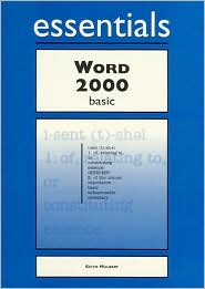 Word 2000 Essentials Basic