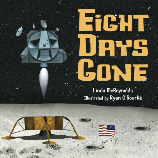 "Title Page of ""Eight Days Gone"", by Linda McReynolds and Ryan O'Rourke on Amazon"