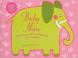 Baby Mine Touch and Feel Flashcards in Three Languages