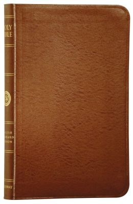 ESV Compact Thinline Bible: English Standard Version, british tan bonded leather