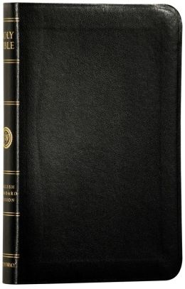 Holy Bible: English Standard Version, Black, Trutone, Personal Size Reference Bible