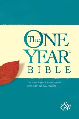 Holy Bible, English Standard Version: One Year Bible: Hardcover