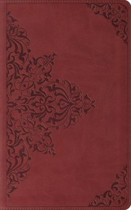 ESV Classic Thinline Bible: English Standard Version, nutmeg TruTone, filigree design