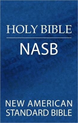 NASB Pew Bible, Large Print Edition: New American Standard Bible Update, black hardcover