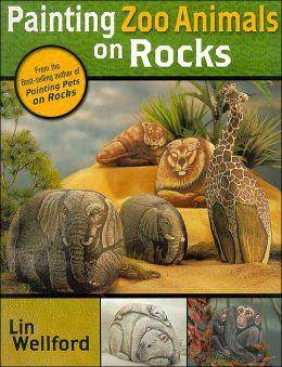 Painting Zoo Animals on Rocks