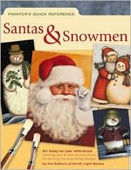 Painter's Quick Reference - Santas & Snowmen