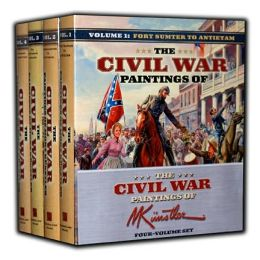 Civil War Paintings of Mort Kunstler-4 Volume Set