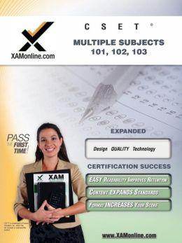 CSET MSAT: Multiple Subjects 101, 102, 103