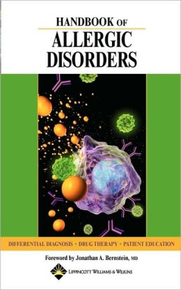 Handbook Of Allergic Disorders