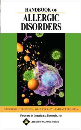 Handbook Of Allergic Disorders