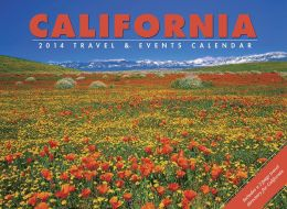 2014 California Travel & Events Wall Calendar