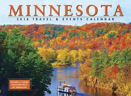 2014 Minnesota Travel & Events Wall Calendar