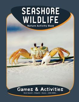 Seashore Wildlife Nature Activity Book