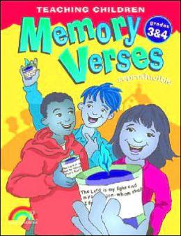 Teaching Children Memory Verses: Grades 3&4