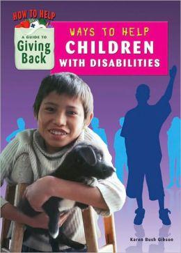 Ways to Help Children With Disabilities