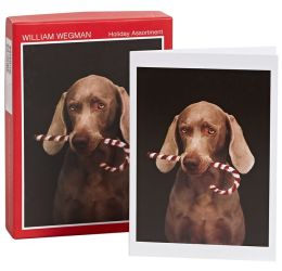 Wegman Assortment Christmas Boxed Card