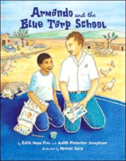 Armando and the Blue Tarp School