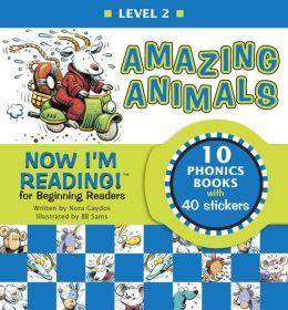 Now I'm Reading!: Amazing Animals - Level 2