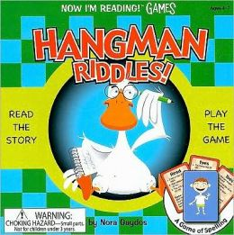 Nir! Games: Hangman Riddles! A Game of the Body