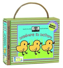 Green Start: Numbers in Nature (Book and Game) - Made With 98% Recycled Materials