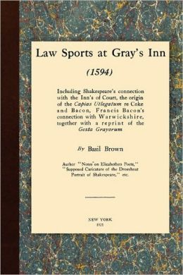 Law Sports At Gray's Inn (1594)