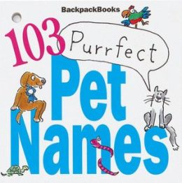 103 Purfect Pet Names