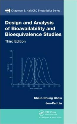 Design and Analysis of Bioavailability and Bioequivalence
