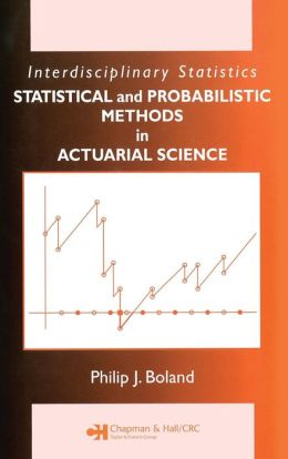 Statistical Methods in Insurance and Actuarial Science