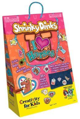 Shrinky Dinks: I Love Horses