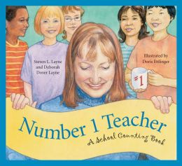 Number 1 Teacher: A School Counting Book (Sleeping Bear Counts! Series)