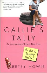Callie's Tally: An Accounting of Baby's First Year (Or, What My Daughter Owes Me!)