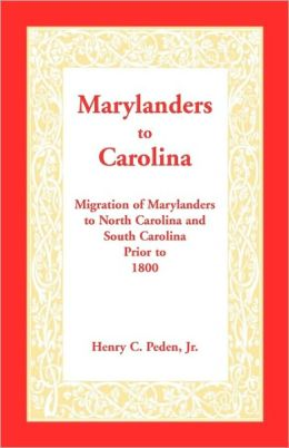 Marylanders To Carolina