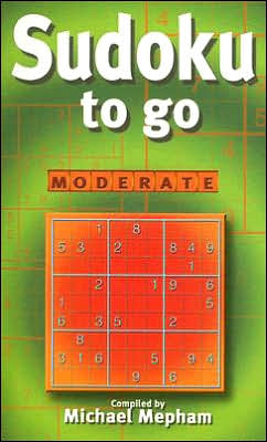 Sudoku to Go: Moderate