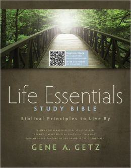 Life Essentials Study Bible, Brown LeatherTouch: Biblical Principles to Live By