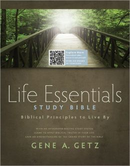 Life Essentials Study Bible, Brown/Green LeatherTlouch: Biblical Principles to Live By