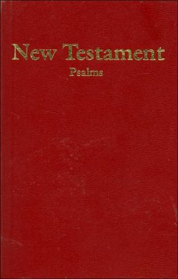 HCSB Economy New Testament with Psalms Burgundy