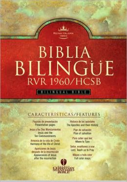 RVR 1960/HCSB Bilingual Bible (Printed Hardcover - Indexed)