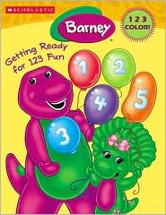 Barney's Getting Ready For 123 Fun (Barney Series)