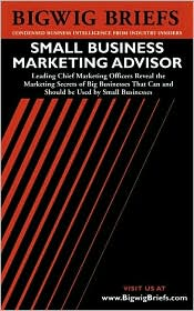 Bigwig Briefs: Small Business Marketing Advisor - Big Business Marketing Secrets That Can and Should Be Used by Small Businesses