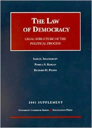 2001 Supplement to Law of Democracy