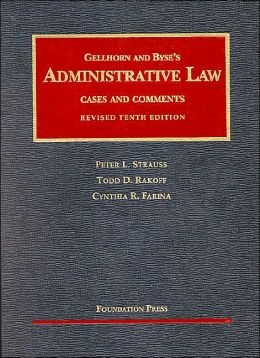 Administrative Law:Cases and Comments