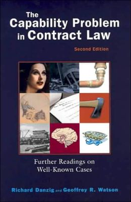 Capability Problem in Contract Law, 2004