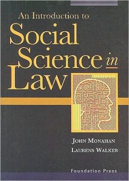 Social Science in Law